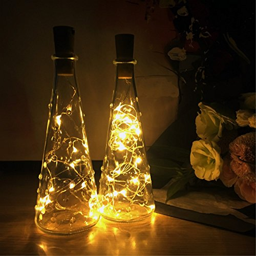 led flaschen licht besttrendy flaschenlicht weinflaschen lichter 6 st ck 20er led kork flasche. Black Bedroom Furniture Sets. Home Design Ideas